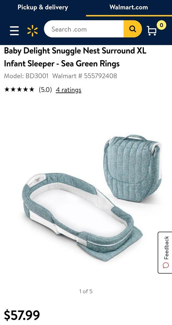 Baby delight snuggle nest XL portable cosleeper