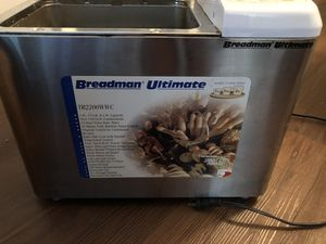 Breadman Ultimate breadmaker for Sale in Nashville, TN