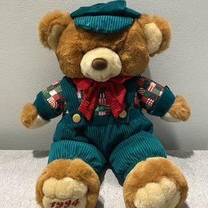 1994 Plush Christmas Teddy Bear for Sale in Pompano Beach, FL