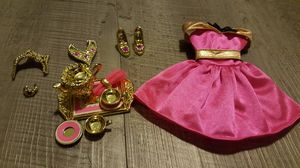 1995 Mattel Barbie Pretty Treasures golden accessories for Sale in Portland, OR
