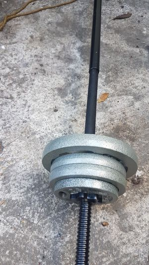 Bar and weights for Sale in Los Angeles, CA