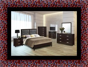 B120 11pc bedroom set with mattress for Sale in Mount Rainier, MD