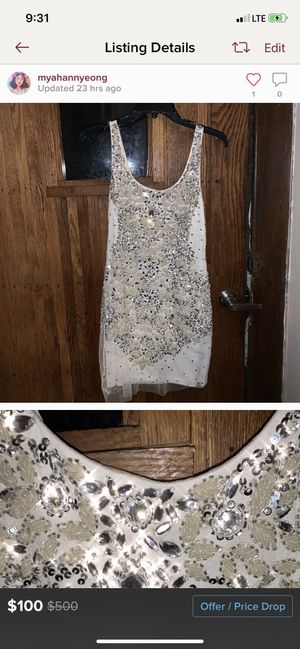 Sparkly formal dress for Sale in Zelienople, PA