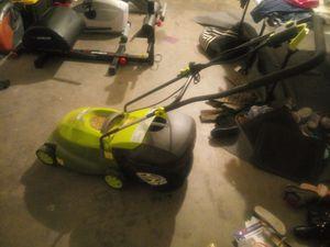 Electric lawn mower $60 or OBO for Sale in Phoenix, AZ