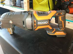 ANGLE DRILL BATTERY NOT INCLUDED RIDGID for Sale in Phoenix, AZ