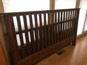 King Size Bed Frame for Sale in Enumclaw, WA
