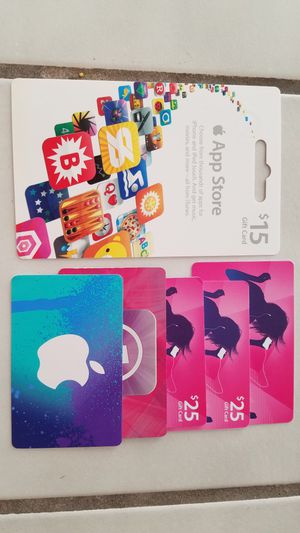 $120 worth of apple store gift cards for Sale in Renton, WA