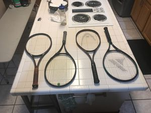 4 full sized tennis rackets for Sale in LOS RNCHS ABQ, NM