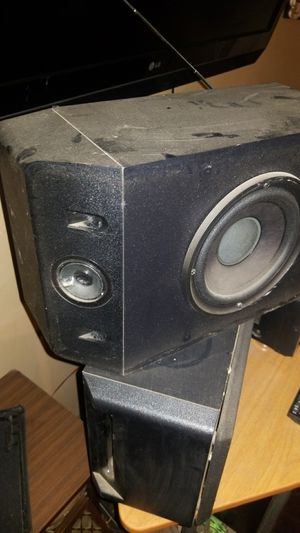 Bose book shelf speakers / house speakers for Sale in Columbus, OH