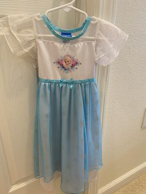 2T Disney Frozen Elsa and Hello Kitty nightgown pajama for Sale in Sunnyvale, CA