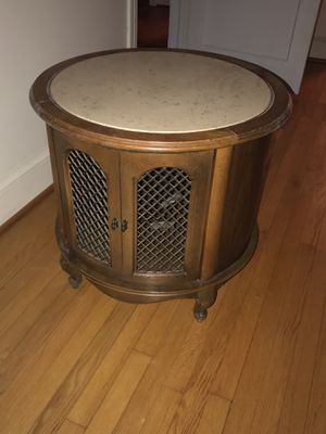 Set of 3: coffee table, end table, and round table for Sale in Burkeville, VA
