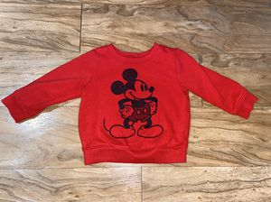 18 Month Mickey Sweatshirt for Sale in Huntington Beach, CA