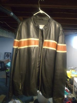 Wilson leather motorcycle jacket for Sale in St. Louis, MO