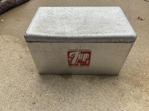Vintage aluminum 7up cooler for Sale in Virginia Beach, VA