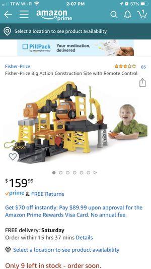 Fisher-Price Big Action Contruction Site Playset (v7310) for Sale in Alabaster, AL