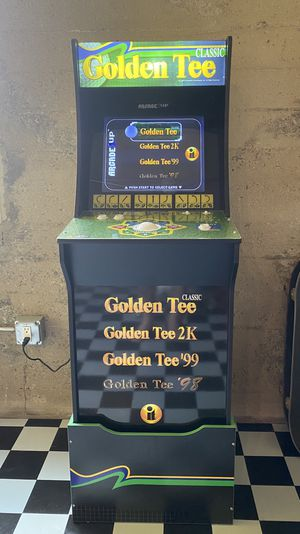 Golden Tee Arcade Game Cabinet for Sale in Los Angeles, CA
