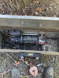 9.5k smittybilt winch trailer setup for Sale in Damascus,  OR