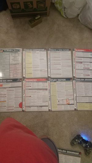 Study Guide Reference Charts for Sale in Raleigh, NC