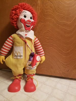 Ronald McDonald doll for Sale in Tijeras, NM