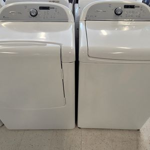 Whirlpool Tap Load Washer And Electric Dryer Set Used In Good Condition With 90day's Warranty for Sale in Washington, DC