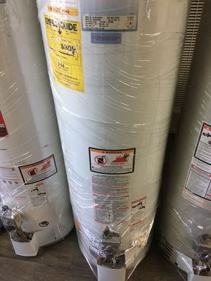 Especial today water heater for 200 1 year warranty for Sale in Pomona, CA