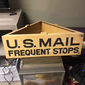 Vtg usps united states postal service magnetic stop sign car topper for Sale in Bedford, VA