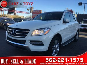 2012 Mercedes-Benz ML 350 for Sale in Inglewood, CA
