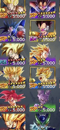 Dragon Ball Legends Account for Sale in Whitney,  TX