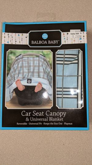 Balboa baby car seat canopy for Sale in Odessa, TX