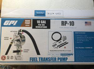 Fuel transfer pump. for Sale in Lakeland, FL
