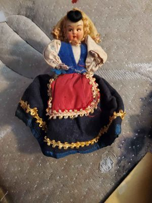 Antique wooden doll for Sale in Pennsville, NJ