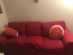 Red sofa for Sale in Chevy Chase, DC