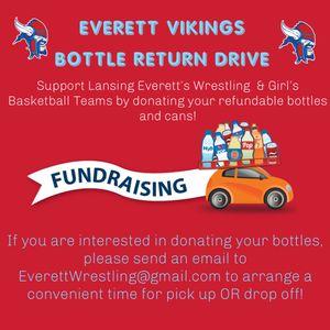 Refundable Bottles Fundraiser for Sale in Lansing, MI