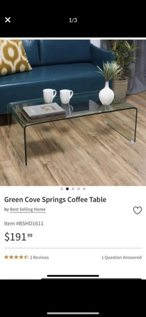 Glass coffee table for Sale in Burien, WA
