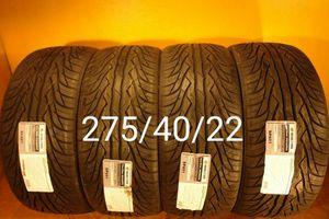 4 New tires 275/40/22 Llantas nuevas for Sale in Chula Vista, CA