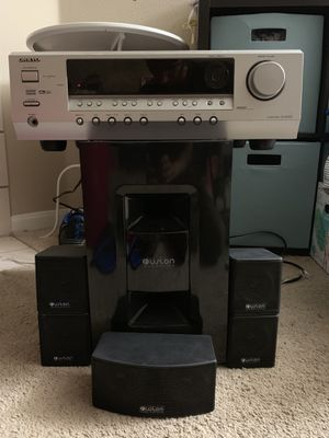 Onkyo Receiver and 5.1 Speaker System for Sale in Georgetown, TX