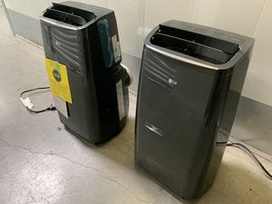 LG portable AC units 12,000 BTUs (2 available) for Sale in Lake Forest, CA
