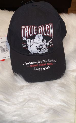 True Religion Black World Tour Cap for Sale in Los Angeles, CA