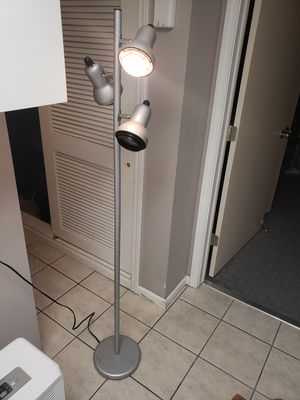 Silver floor lamp for Sale in Columbus, OH