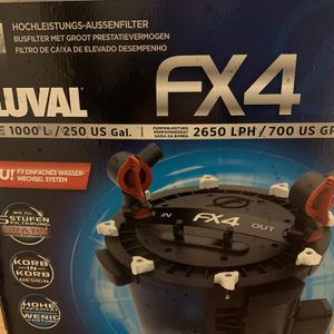 New Fx4 Fluval Canister Filter for Sale in Newington, CT