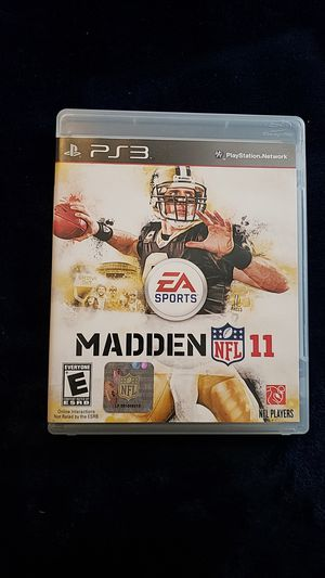 PS3 Madden 2011 for Sale in Sheridan, WY