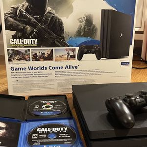 PS4 Pro 1TB, Call Of Duty Games for Sale in Bellevue, WA