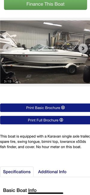 2009 Bayliner 175 for Sale in Frankfort, IL