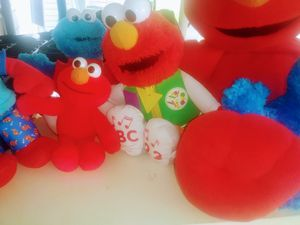 Tickle Me Elmo and Cookie Monster for Sale in Kansas City, MO