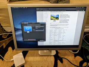 """Apple Cinema HD 23"""" display for Sale in Rochester, MN"""