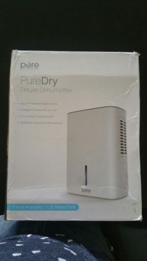 Pure dry deluxe dehumidifier new for Sale in Miami, FL