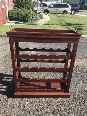 Wine Rack with Server for Sale in Saddle Brook, NJ