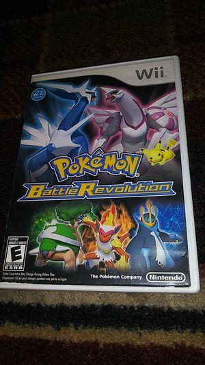 POKEMON BATTLE REVOLUTION - (USED) Nintendo Wii & Wii U video game for Sale in Stockton, CA