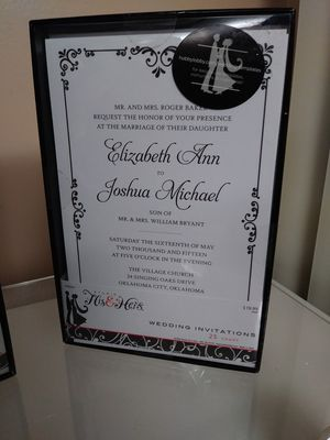 Wedding/Elegant Party Invitations for Sale in US