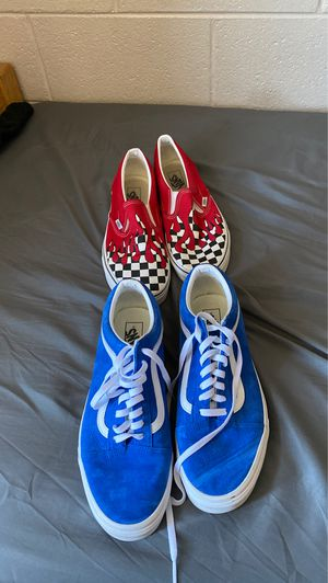 Vans sneakers for Sale in Fort Carson, CO